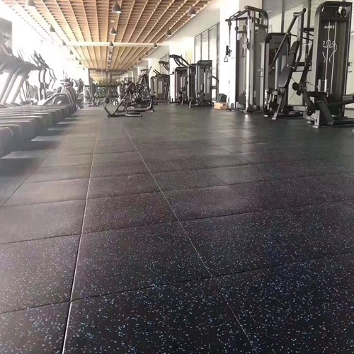 Gym flooring case