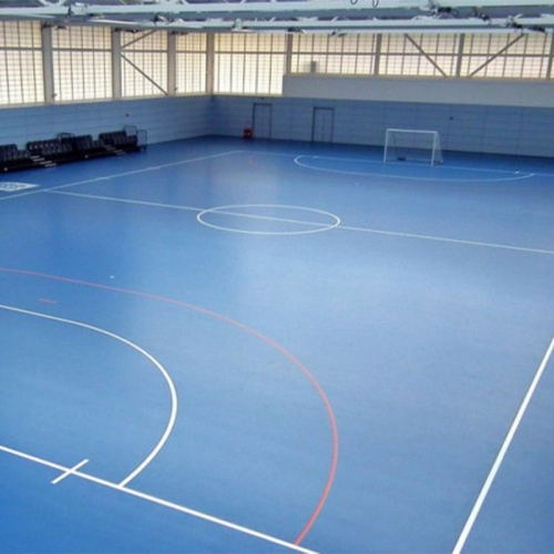 Indoor futsal court flooring