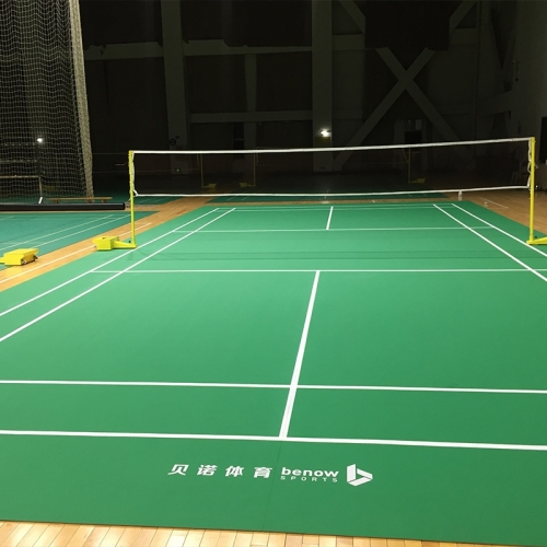 Indoor badminton court mat Sand surface